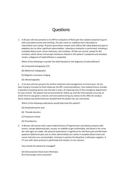 NR 603 Week 4 APEA Predictor Exam Assignment