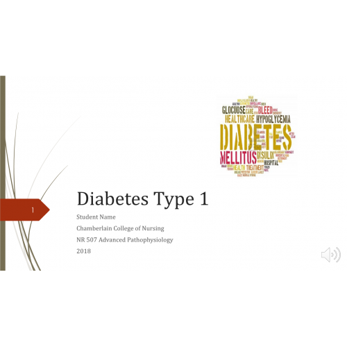 assignment on diabetes